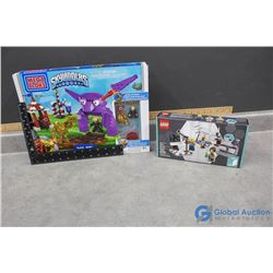 In Box Megablocks Skylanders and Lego Research Insitute