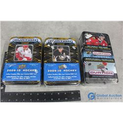 Unopened (2) 2009-2010 & 2008-2009 Hockey Cards in Tins