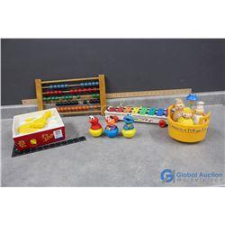 Vintage Fisher Price & Sesame Street Toys