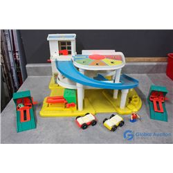 Fisher Price Little People Garage and Accessories