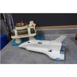 Fisher Price Space Station and Shuttle Toys