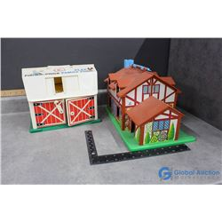 Fisher Price Little People Barn and Cottage