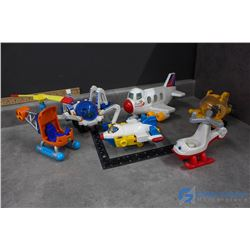Vintage Fisher Price Little People Aircraft