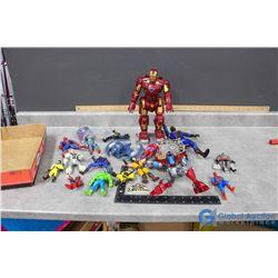 Super Hero Toys - Ironman, Spiderman, Hulk, Batman, etc