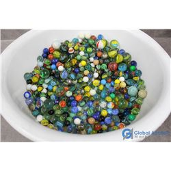 Large Bucket of Marbles