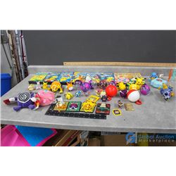 Pokemon Toys and VHS's