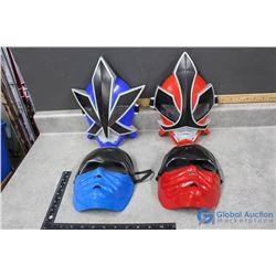 (4) Toy Masks