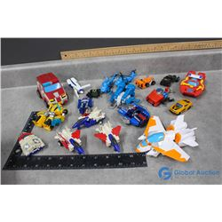 Large Collection of Transformers Toys