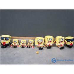 Sponge Bob TY Beanies, Keychains, etc