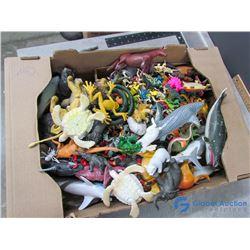Large Colletction of Animals - Sea Creatures, Dinosaurs, Farm Animals, etc