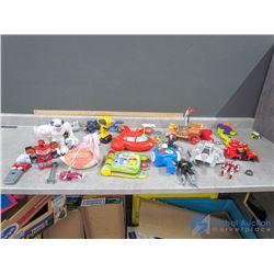 Misc Toys - Transformers, Elmo, etc