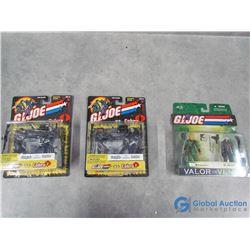 (3) In Package G.I Joe Toys