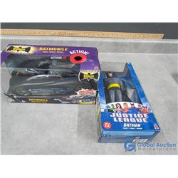 (2) In Package Batman Toys