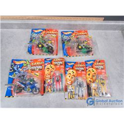 (6) In Package Hot Wheels Crash Testers Toys
