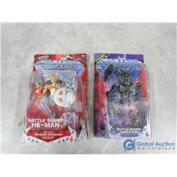 (2) In Package Masters of The Universe Toys