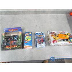 (4) Misc Toys in Packages - Transformers, etc