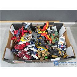 Large Collection of Transforming/Morphing Toys