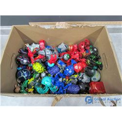 Large Collection of Bakugan Toys
