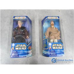 (2) Star Wars Attack of The Clones Toys in Box