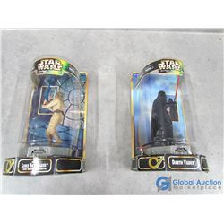(2) Star Wars Epic Force Toys in Box