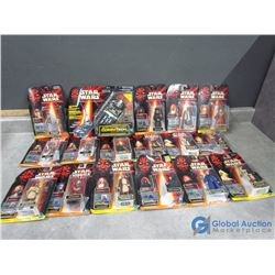 Star Wars CommTech and Figurines Toys in Packages