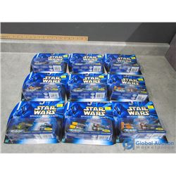 Star Wars Micromachine Podracers in Packages