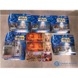 Star Wars Micromachine Tins, Podracers , Figurines Playsets in Packages