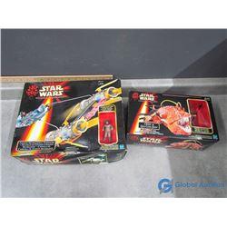 (2) Star Wars Toys in Box