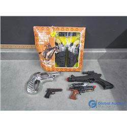 In Box Western Cowboy Toy Gun Set & Assorted Guns