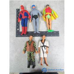 Superhero Dolls - Spiderman, Batman, Robin, etc