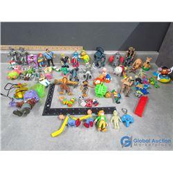 Misc Toys - Johnny Bravo, Spongebob, etc
