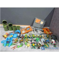 Teenage Mutant Ninja Turtles Sewer Set and Toys