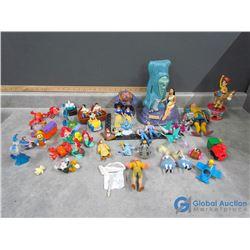 Disney Toys - Little Mermaid, Alice in Wonderland, etc