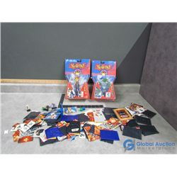Yu-Gi-Oh Toys, Cards, In Package Toys, etc