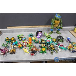 Assorted Teenage Mutant Ninja Turtles