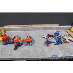Assorted Centurion Toys