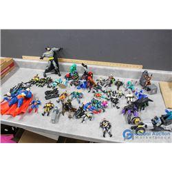 Assorted DC Figures & Toys - Batman, Superman, etc