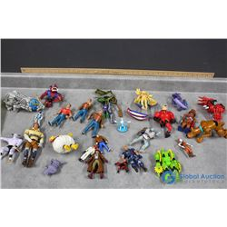 Assortment of Toys - Mr. Incredible; Monsters Inc; Scooby Doo; Etc
