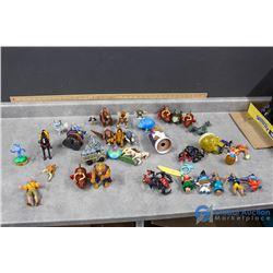 Assortment of Disney/Pixar Toys - Monsters Inc, Atlantis; Lilo & Stitch; etc