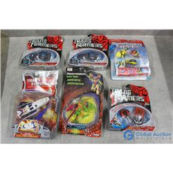 Assortment of Transformer Toys in Package