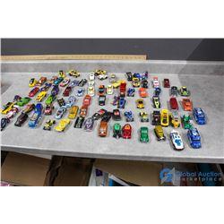Large Assortment of Hotwheels Cars