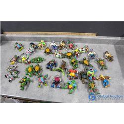 Assorted Teenage Mutant Ninja Turtles Toys