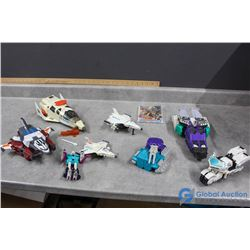 Variety of Transforming Toys