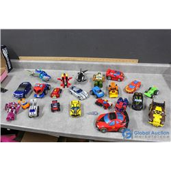 Variety of Transformers & Transforming Toys