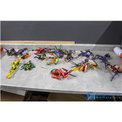 Assortment of Insect Morphing Toys