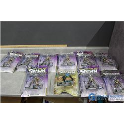 (10) Spawn Figurines in Package - (9)Domina & (1) Other