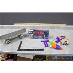 Tech Deck in Package & Mini Spiderman Board