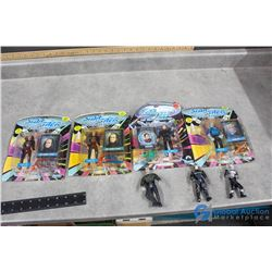 (4) Star Trek The Next Generation Toys in Package & Some Out of Package