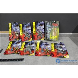 (8) Planet of the Apes Toys in Package