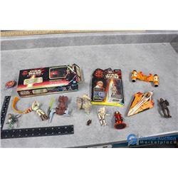 Starwars Card Game & Transforming Star Wars Toy